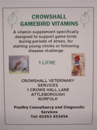 Crowshall Game Vitamins